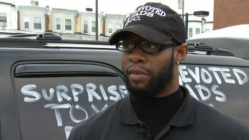 Philadelphia Police Sgt. Brandon Ruff pictured during a 2013 interview with NBC10.