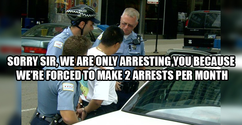 FORCING-ARRESTS