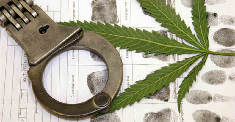 cop caught with weed wont face charges