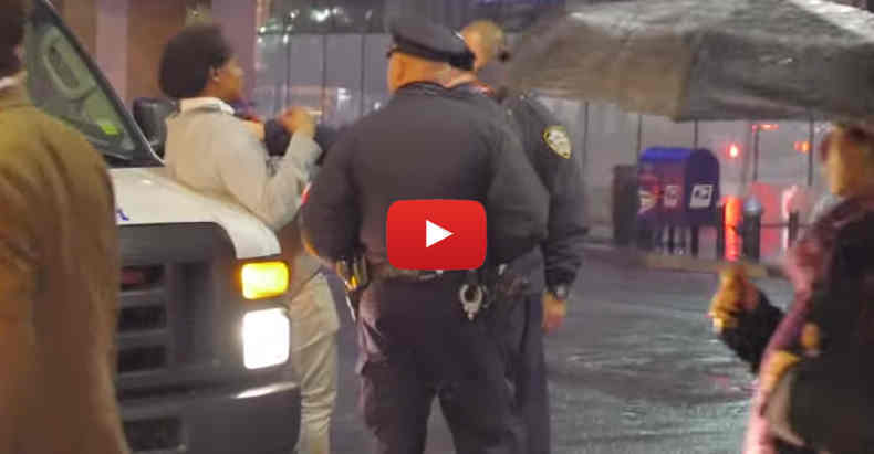 nypd assault for dancing