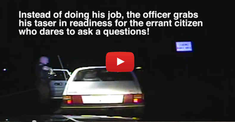 Case Goes to Jury Trial to Punish Citizen for Asking a Police ...