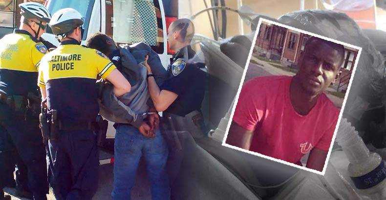 New-Police-Narrative-Freddie-Gray-Beat-Himself-Up,-Severed-his-Own-Spinal-Cord