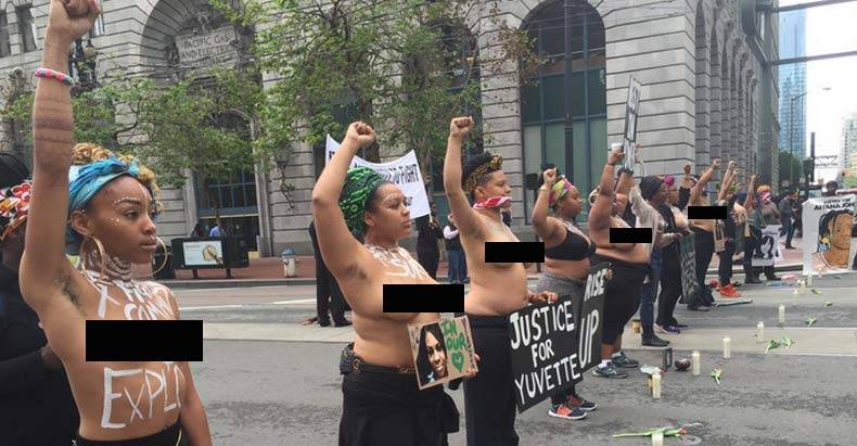 women-go-topless-to-protest-police-brutality