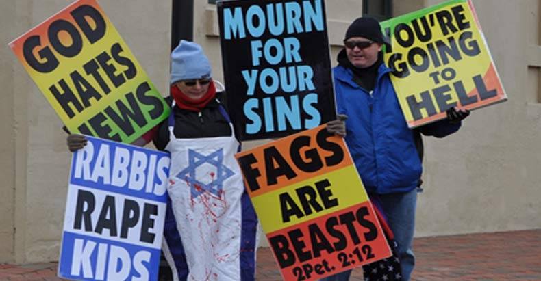 Image result for westboro baptist church