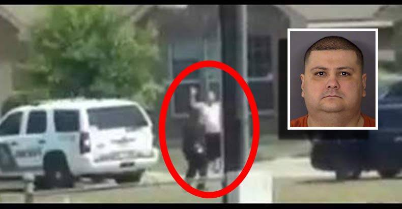Newly-Released-Graphic-Video-Shows-Cops-Killing-Unarmed-Man-With-His-Hands-Up-from-Far-Away
