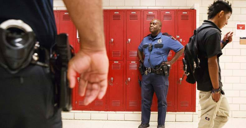 'Education'-in-a-Police-State---In-California-Alone,-Schools-Call-the-Cops-Every-2.6-Seconds