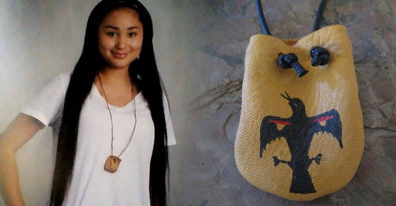 School-Freaks-Out,-Forces-13-yo-Native-American-Girl-to-Remove-Sacred-Medicine-Pouch