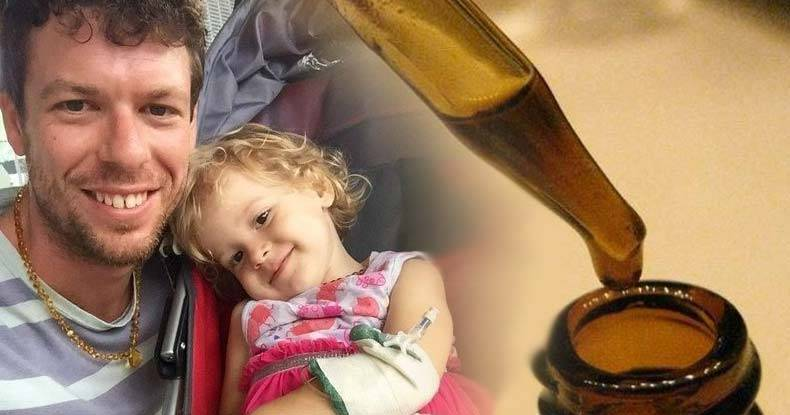 Dad-Arrested,-His-2yo-Daughter-Taken,-for-Successfully-Treating-Her-Cancer-with-Cannabis-Oil