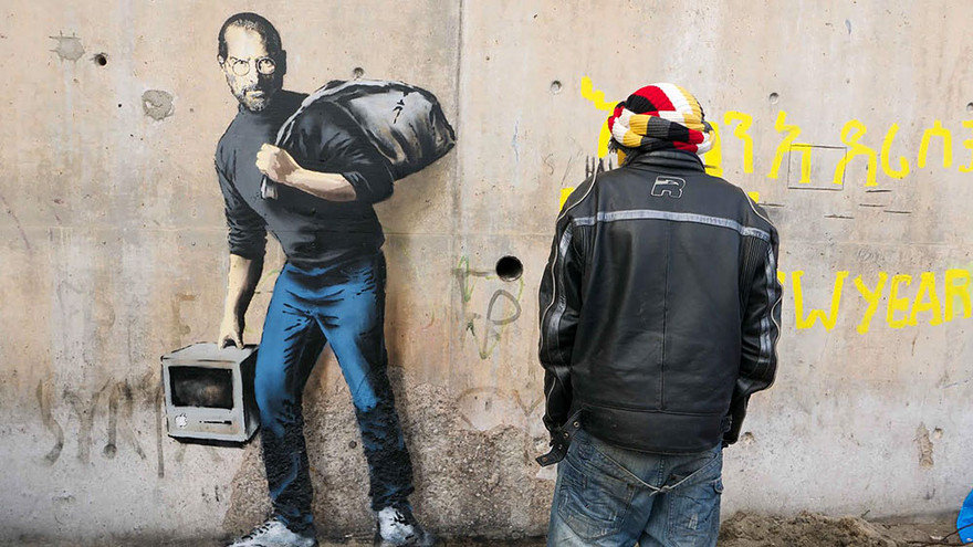 steve jobs refugee