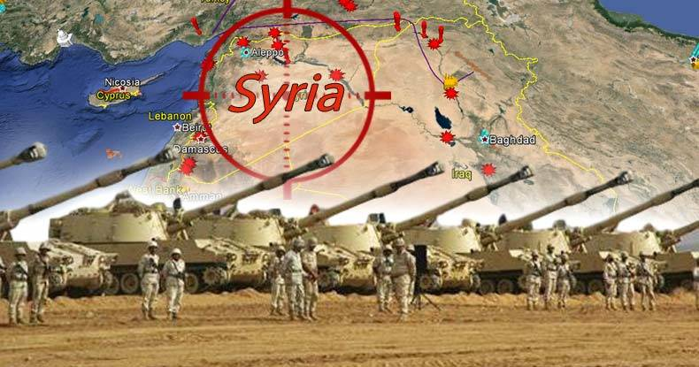 350,000-Soldiers,-20,000-Tanks-&-2,500-Warplanes-Amass-Near-Syria
