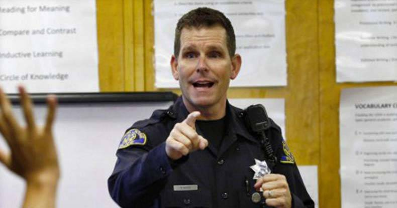 Cop-Fired-for-Threatening-to-Murder-Black-Lives-Matter-Activists----Gets-His-Job-Back