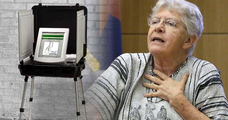 Arizona-Poll-Worker-Confirms-Rigged-Primary----Testifies-Her-Machine-Gave-Out-Wrong-Ballots
