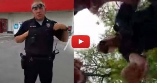man-swarmed-and-arrested-by-cops-for-flipping-the-bird