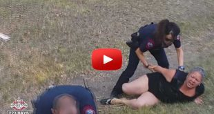 cops beat mother father