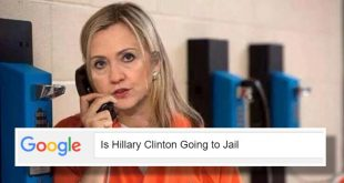 Hillary Clinton Going to Jail
