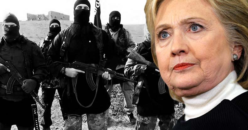Image result for hillary clinton ISIS