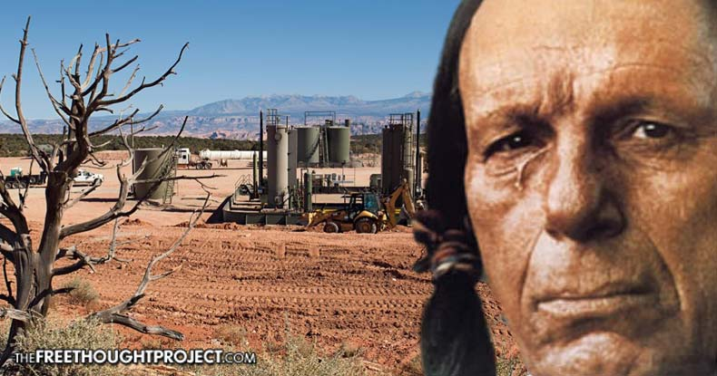 DAPL Is Just The Beginning — Federal Bill Seeks Largest Native American Land Grab In 100 Years