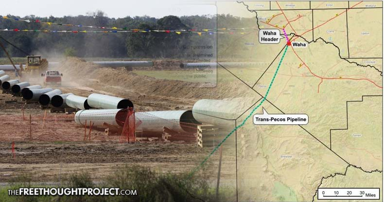 Media silent as company behind dakota pipeline steals more for Free land in texas