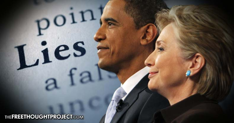 BREAKING: Irrefutable Proof Obama Lied to Protect Hillary Clinton's Run for the White House
