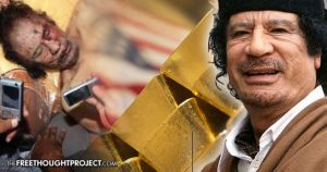 6 Years Ago Today, the US Helped Murder Gaddafi to Stop the Creation of Gold-Backed Currency