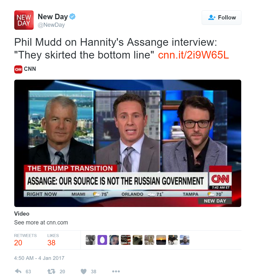 WikiLeaks Issues Ultimatum to CNN — Air 1-hour Exposé on Plot to Defame Assange — Or Be Sued Mudd