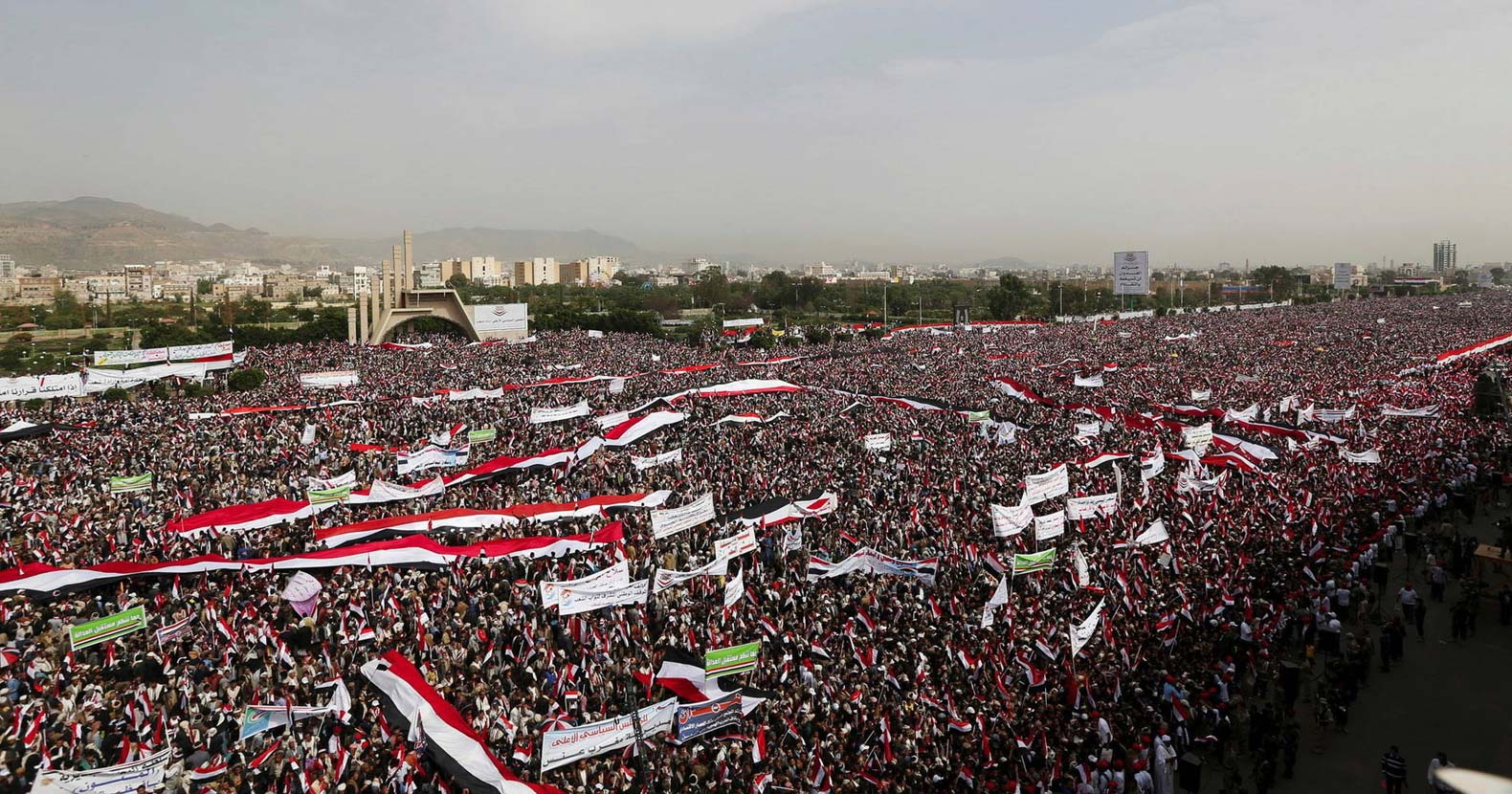 Hundreds of Thousands Gather in Massive Protest to US ...