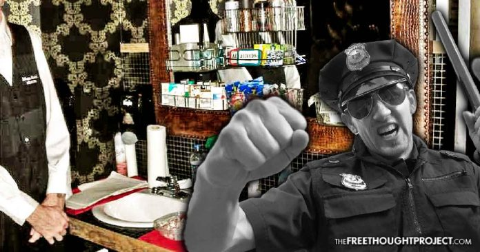 Cop Charged For Punching Elderly Bathroom Attendant Because The