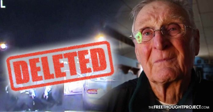 "Dashcam of Cops Beating 83yo Man Mysteriously Deleted Due to ""Technical Failure"""