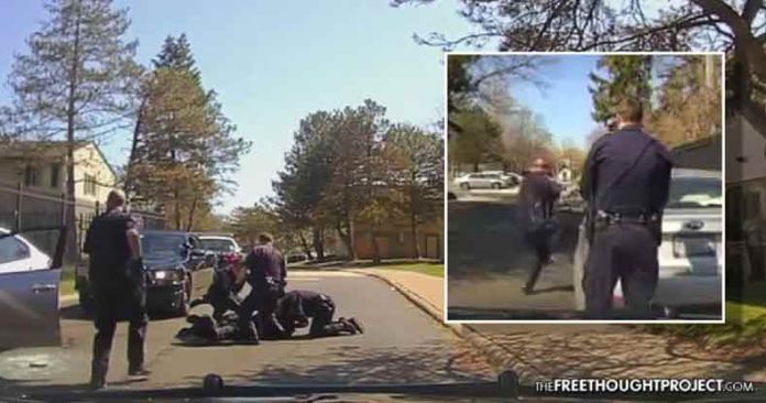 WATCH: Cop Rips Out Window, Beats Driver, Arrests Family, for Asking Why He Was Stopped
