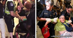WATCH: Police Drag Disabled People from Wheelchairs During Mass Arrests at Peaceful Protest