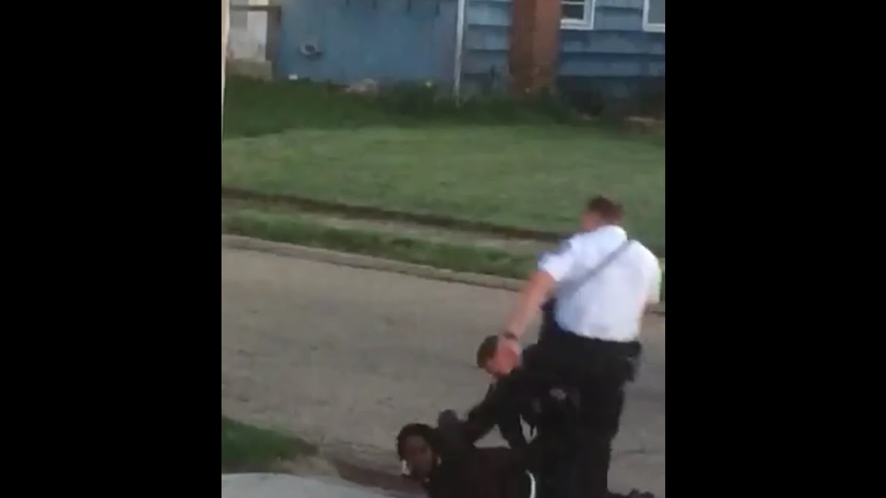 WATCH: Cop Curb Stomps Handcuffed Man — Gets a 24-hour Vacation