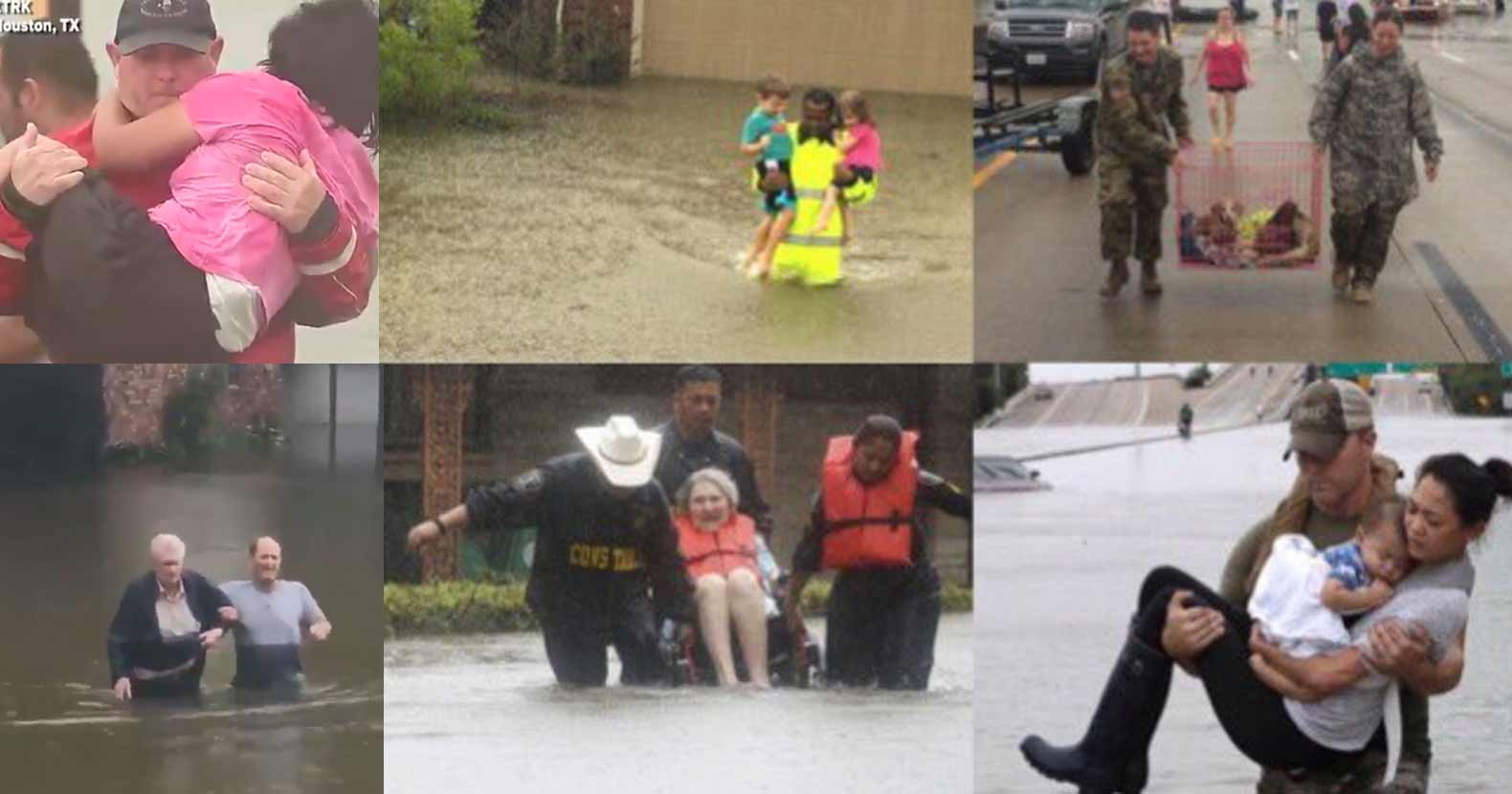 People Helping Each Other: Diverse Groups Of People Helping Each Other In Houston