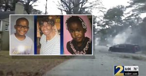 Dashcam Shows Cops Speed into Neighborhood Ending In Crash that Killed Woman, 2 Children