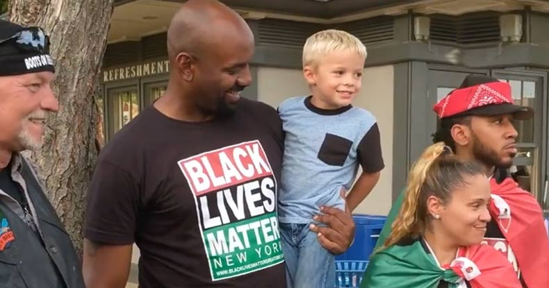This is What the Establishment Fears: Watch Black Lives Matter & Trump Supporters Come Together