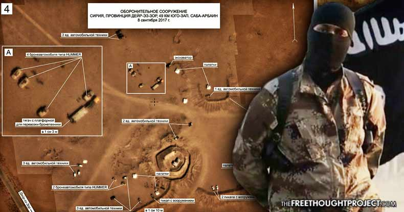 BREAKING: Russia Releases Photos Claiming to Show US Spec Ops Equipment in ISIS Positions in Syria