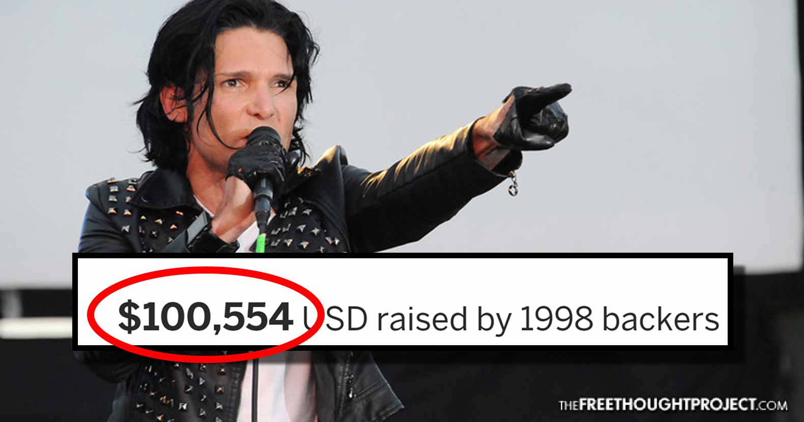 Goonies never say die. Corey Feldman is going all in to expose pedophiles in Hollywood. $100k raised in 24 hours.