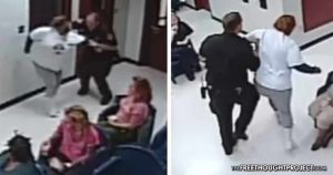 WATCH: Cop Attacks 60yo Woman, Slams Her to the Ground After She Asked for Milk