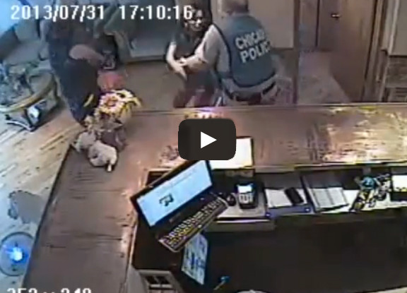 Chicago PD Caught on Camera in a Disgusting Case of Verbal and Physical Abuse