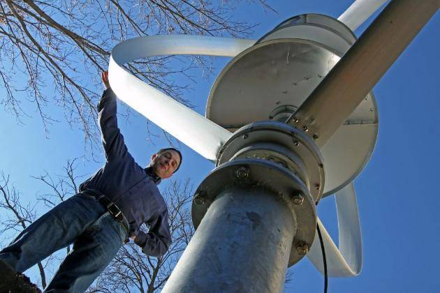 The turbine of turbulence (photo by Bruce Bisping) Star Tribune