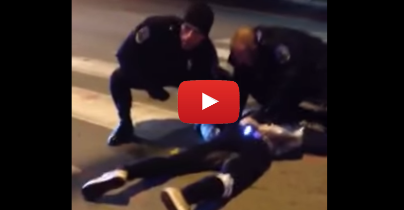 """Police Say Brutality is """"Consistent with Officer's Training"""" After Alarming Video Goes Viral"""