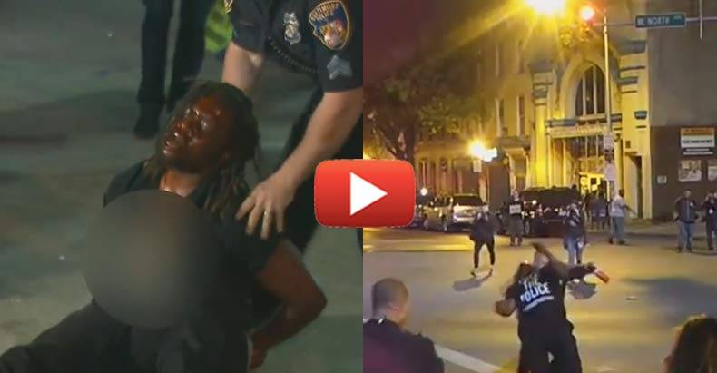 Two Videos of the Same Arrest in Baltimore Shows How MSM Does Not Give You the Whole Truth