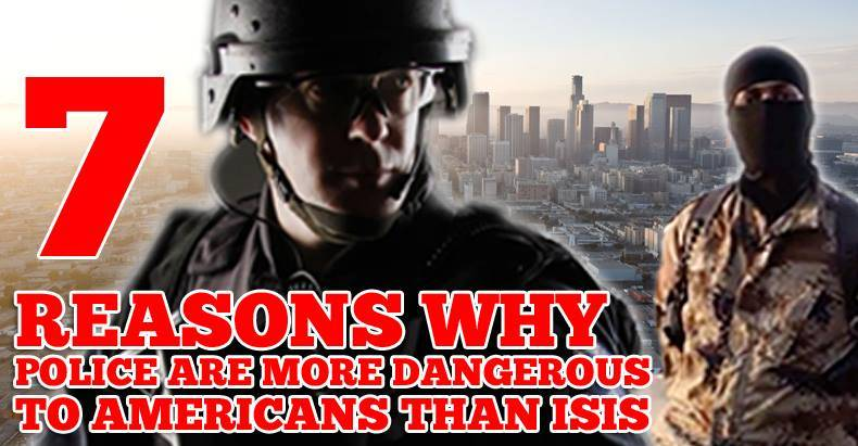 7 reasons why isis police