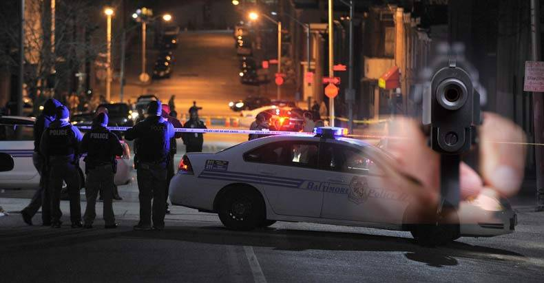 Baltimore-Man-Shot-In-The-Face-for-Attempting-to-Run-Away-and-Hide-From-Police