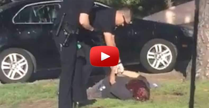 Unarmed Man Flagged Down LAPD for Help, Then they Literally Blew His Brains Out