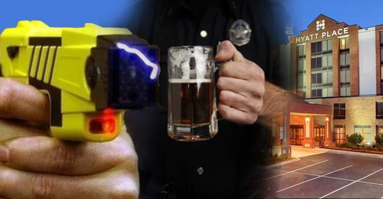 Drunk-Cop-Tased-&-Arrested-for-Going-for-His-Gun-After-Sexually-Assaulting-Multiple-Women-in-Hotel