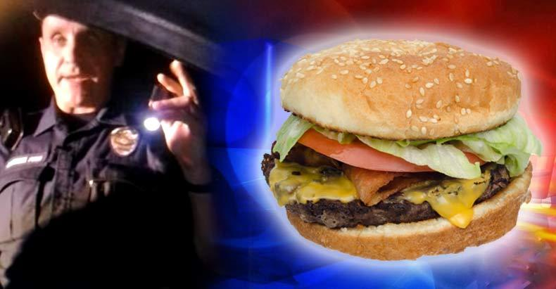 This-is-What-Eating-a-Hamburger-in-Your-Car-Looks-Like----In-a-Police-State