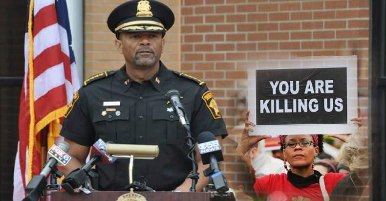 """Freedom Loving"" Sheriff Calls for ""Eradicating the Slime"" Who Would Dare Criticize the Police"