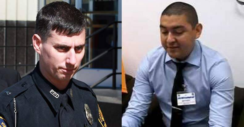 Officer Stephan Rankin (Left) Officer Rolando Trujillo Jr. (Right)