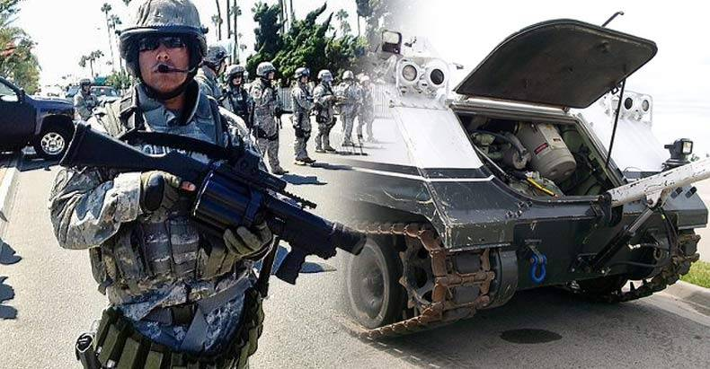 DoD-Orders-Police-Nationwide-to-Give-Back-Grenade-Launchers,-Bayonets,-&-Tanks