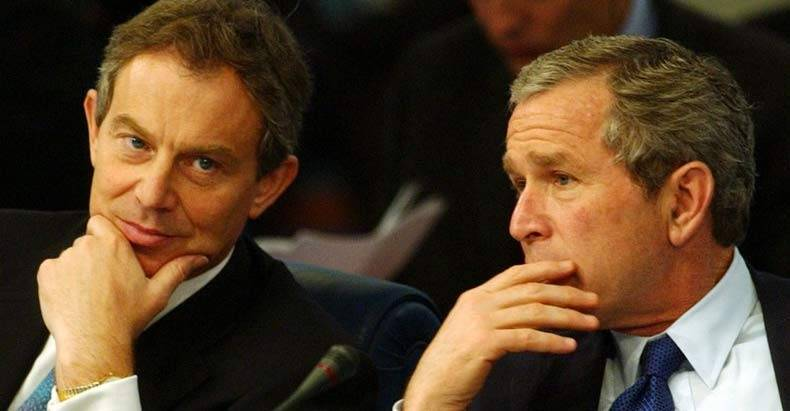 Shocking Emails Expose George Bush and Tony Blair Plotting Iraq War a YEAR Before the Invasion